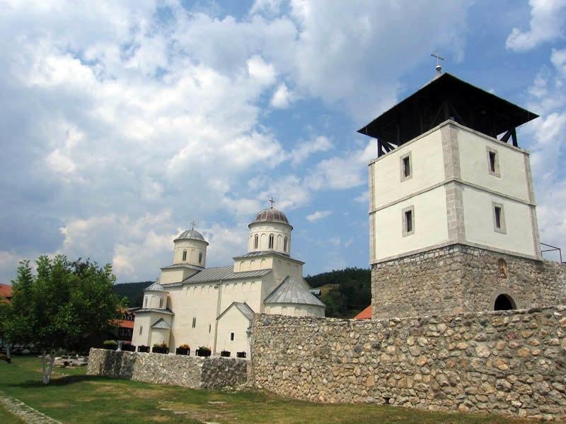 Mileseva crkva i zvonik juzna strana