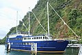 Milford Mariner cruise boat at Milford Sound wharf.jpg