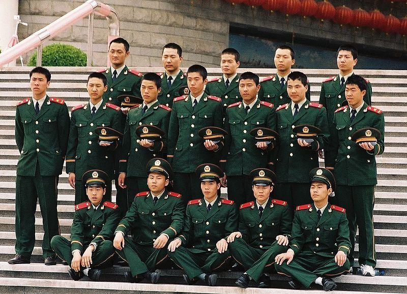 Fichier:Militaires à Shanghai.jpg
