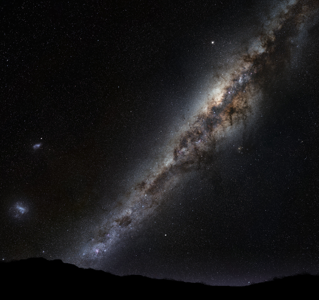 File:Milky Way on horizon montage.png