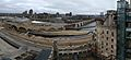 Mill City Museum 22 view of Saint Anthony Falls, Lock, and Dam, and Stone Arch panorama.jpg