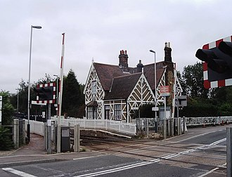 Millbrook railway station (Bedfordshire) - Image: Millbrook (Beds) Railway Station
