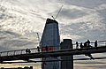 Millennium Bridge from the Thames (38015962331).jpg