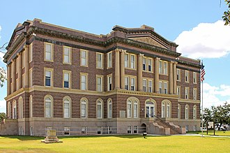 Mills County, Texas - Image: Mills County Courthouse 1