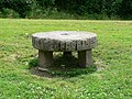 Millstone seat. Ernesettle, Plymouth. - geograph.org.uk - 914988.jpg