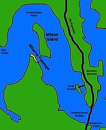 Milson Island--Milsons Passage & Milson Island