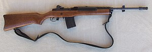 École Polytechnique massacre - A Ruger Mini-14 Manufactured by Sturm Ruger Weapon model used by Marc Lépine