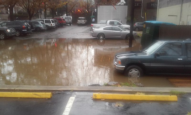 Minor Flooding in midtown atl.jpg