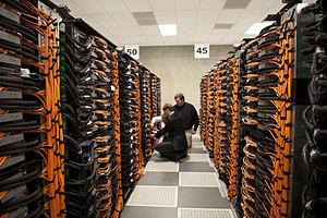 Argonne National Laboratory - Argonne's IBM Blue Gene/Q supercomputer.