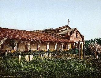 Mission San Antonio de Padua - Mission San Antonio de Padua in 1898