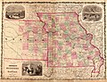 Missouri and Kansas, Johnson's New Illustrated Family Atlas, 1862.jpg