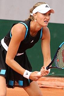 Kristina Mladenovic French tennis player