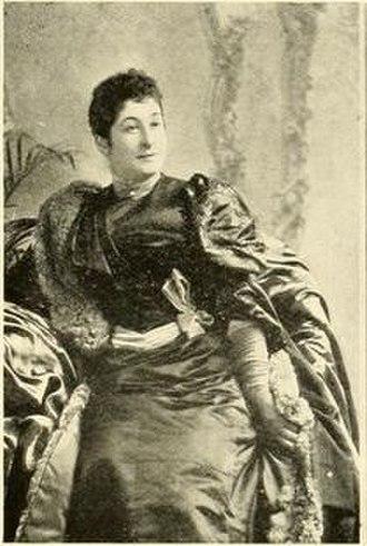 Enrique Dupuy de Lôme - Mme. Dupuy de Lôme