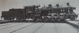 China Railways JF6 - Builder's photo of Manchukuo National ミカロ643 - one of the five diverted to North China Transport