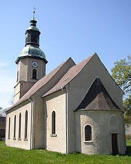 Mockrehna Place in Saxony, Germany