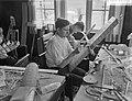 Modelbouwerskamp te Ermelo, barakken waarin reparaties verricht kunnen worden, Bestanddeelnr 911-4709.jpg
