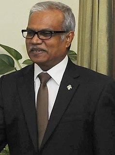 Mohamed Asim Maldivian civil servant and diplomat