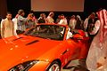 Mohammed Yousuf Naghi Motors unveils Jaguar F-TYPE in Jeddah, KSA (9004333507).jpg