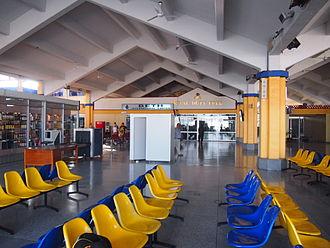Moi International Airport - Departure gate area