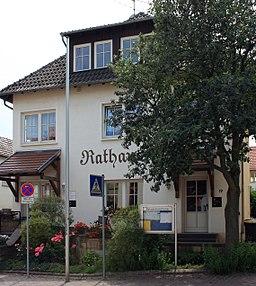 Mommenheim/Rheinhessen, Rathaus in der Hindenburgstraße 19