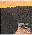 Monet - Das Tal der Creuse bei Sonnenuntergang.jpg