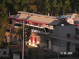 Monorail train at the station in Moscow PICT0104.JPG