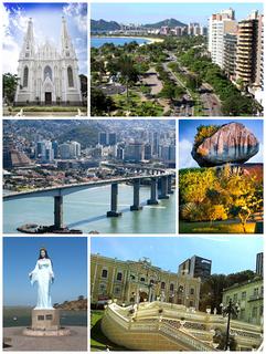 Vitória, Espírito Santo Municipality in Southeast, Brazil