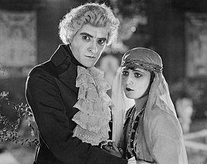 Monte Cristo (1922 film) - John Gilbert and Virginia Brown Faire