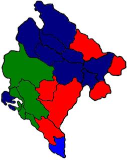 2000–2002 Montenegrin municipal elections