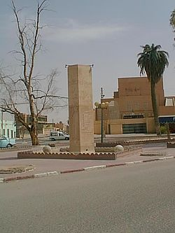Monument de Citroen, Touggourt