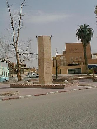 Touggourt - Monument de Citroen, Touggourt