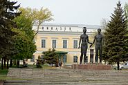 Monument to Taganrog resistance