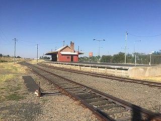 Moree railway station