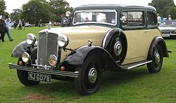 Morris Fifteen/Six (1935)