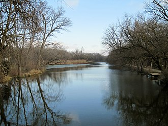 National Register of Historic Places listings in Grundy County, Illinois - Image: Morris Wide Water Canal Boat Site