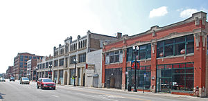 Motor Row District - Image: Motor Row Historic District A Chicago IL