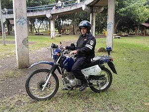 Español: policia montado motorizado Español: p...
