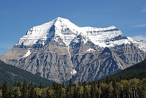 Mount Robson - Image: Mount Robson 2008