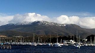 Mount Wellington (Tasmania) Mountain in Tasmania, Australia