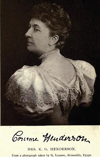 Henry Starnes - Image: Mrs Corinne Henderson (nee Starnes)