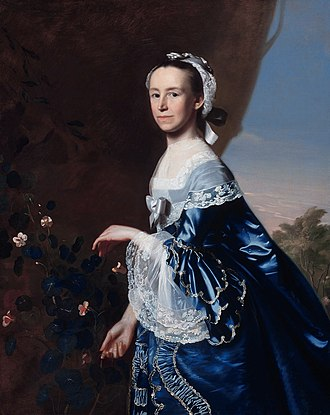 Mercy Otis Warren - Mercy Otis Warren, circa 1763, oil on canvas by John Singleton Copley
