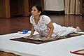 Mrs Manekar - Bhujangasana - International Day of Yoga Celebration - NCSM - Kolkata 2015-06-21 7391.JPG