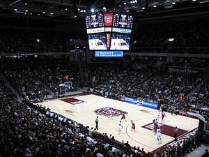 JQH Arena - Image: Msu v arkansas