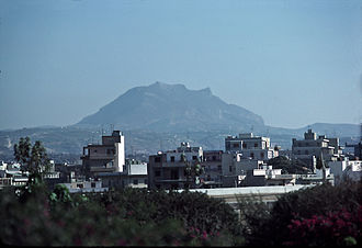 Mount Juktas - Juktas is said to resemble the face of Zeus.