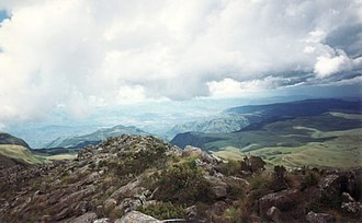 Mount Nyangani - Mt. Nyangani view from the summit.
