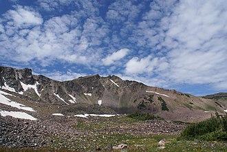 Park Range (Colorado) - West face of Mount Zirkel