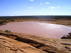 Tsavo East National Park - Viewpoint from the top of Mudanda Rock