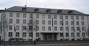 I. German/Dutch Corps - Headquarters of 1(GE/NL)Corps in Münster