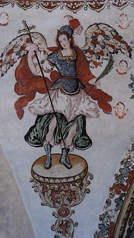 Muurschildering religieuze schilderkunst, OaxacaDSC02269.JPG