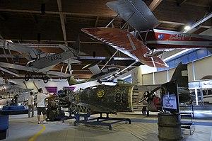Museo dell'Aeronautica Gianni Caproni M.C.200, Ba.19, G.51bis.JPG
